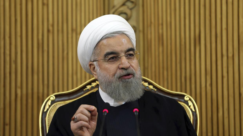 Presidente iraní Hassan Rouhani