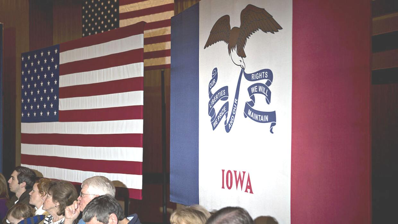 Pili Tobar: Sigamos el ejemplo de Iowa GettyImages-Iowa-flag.jpg