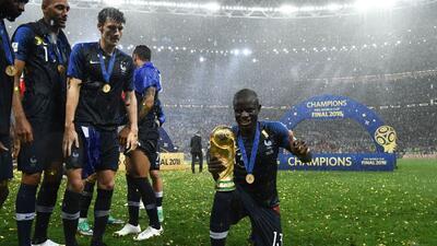 Un verdadero guerrero: N'Golo Kanté jugó la final del Mundial enfermo