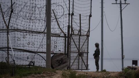 La Zona Desmilitarizada entre las dos Coreas está lena de minas y...