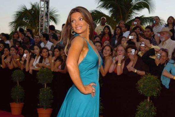 Bárbara Bermudo fue de azul en el 2006 y definitivamente es uno de sus c...