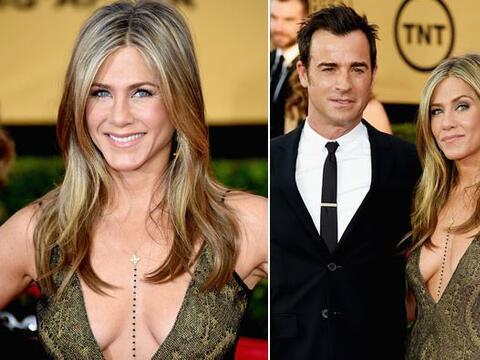 Jennifer Aniston otra vez nos dejó sorprendidos...