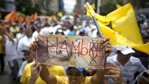 Uno de los motivos que sacó a los venezolanos a las calles fue el...