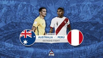 Australia sueña con avanzar ante un Perú que se juega el honor