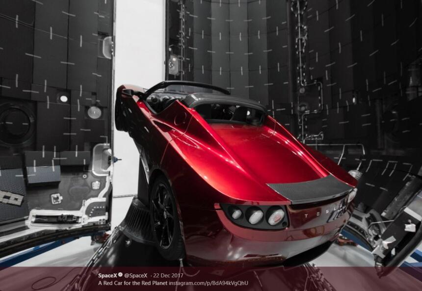 Tesla auto Space X