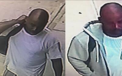 Buscan a un hombre que intimida a sus víctimas en la estación Soho tapán...