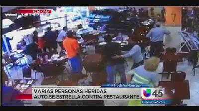 Video de seguridad del restaurant Dimassi's