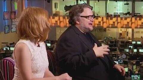 Guillermo Del Toro y Jessica Chastain, política y cine