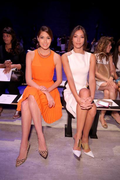 La actual Miss Universo, Gabriela Isler estuvo muy atenta, al igual que...