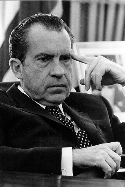 # 37- Richard Nixon. Mandato desde 20 de enero de 1969 y hasta 9 de agos...
