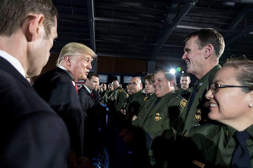 Intimidad Donald Trump