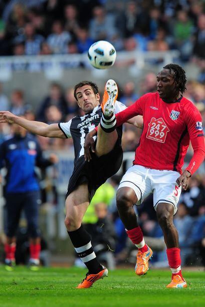 Este futbolista del West Bromwich Albion tuvo un gran partido ante el Ne...