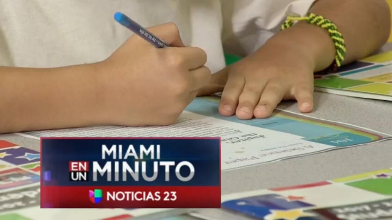 'Miami en un Minuto': Superintendente visita las escuelas de Miami-Dade...