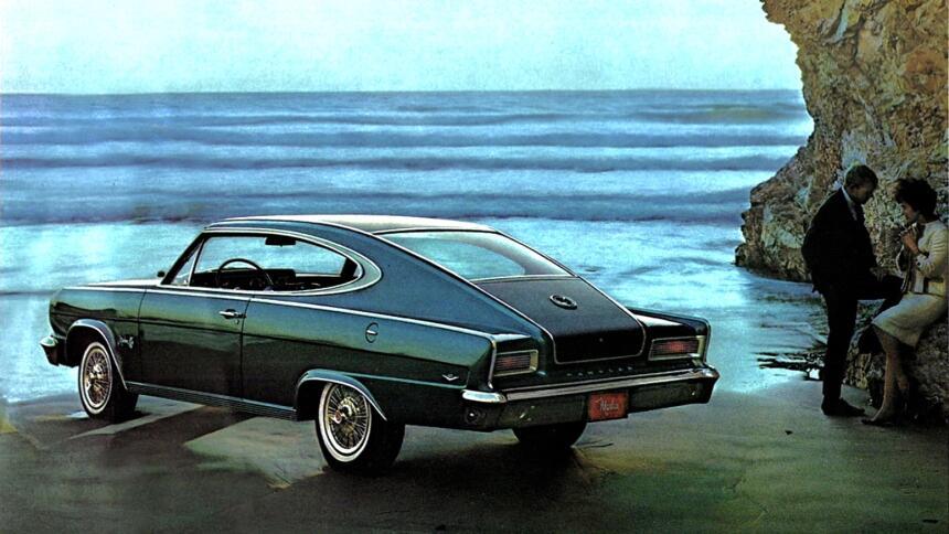 Los 15 carros más horrorosos de todos los tiempos 14.1965 AMC Marlin.jpg
