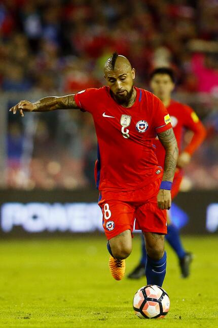 Chile - Conmebol: Arturo Vidal (F.C. Bayern Múnich)