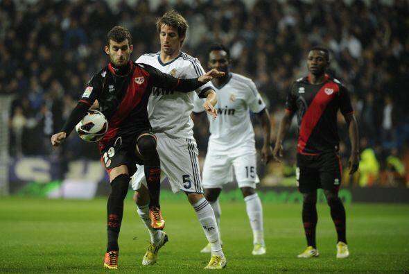 Real Madrid jugó como local en la fecha 24 de la Liga española, recibien...