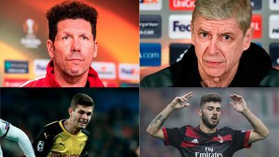 Grandes responsables: los que tienen en Europa League una tabla de salvación para 2018