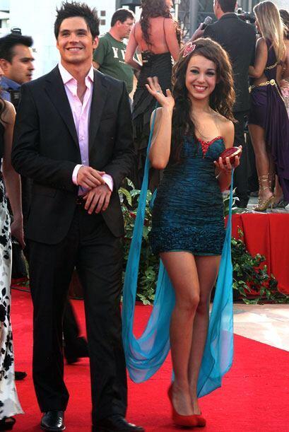 Danna Paola y Eleazar Gómez desfilaron juntos en el 2010. Y sí, aunque e...
