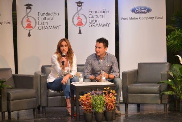 Por más de 40 minutos, Lili y Fonseca hablaron de la importancia de segu...