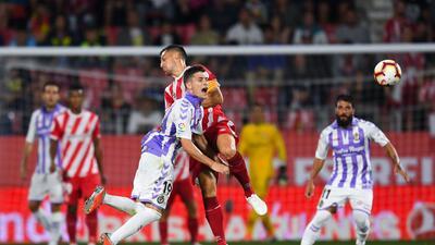 En fotos: frío empate sin goles de Girona y Valladolid en arranque de Liga sin Cristiano