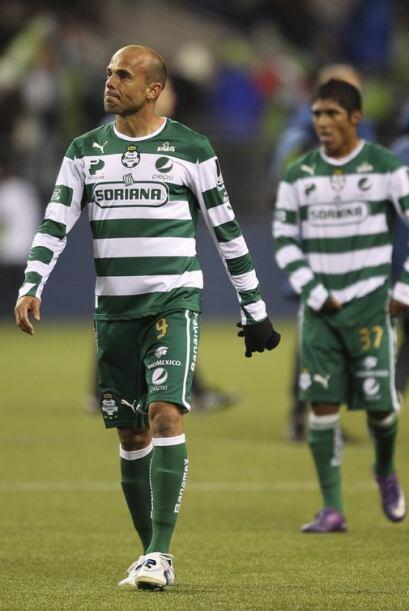 Santos fue un equipo inestable en el partido, ya que en lapsos del encue...