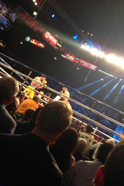 ¡Cuánta emoción se vivió en el ring!