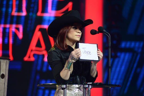 Ana Cristina votó contra su propia ex-compañera, Joyce.