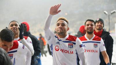 En fotos: Shakthar no puede vencer en casa al Olympique de Lyon en la Champions League