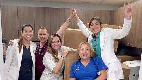 El grupo Doctoras Boricuas creó un GoFundMe para poder pagar todo...