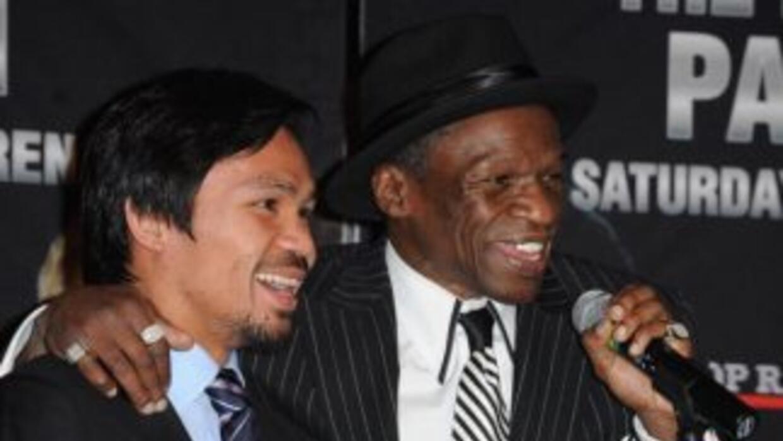 Mayweather padre; 'Quiero que Floyd le patee el trasero a Manny Pacquiao'.