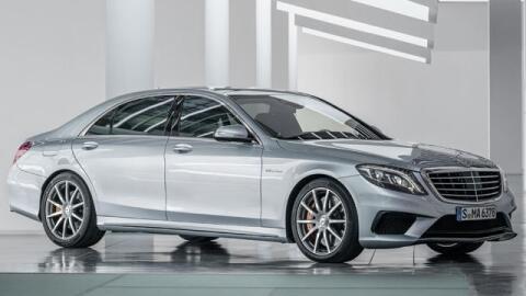 Este es el Mercedes-Benz S63 modificado por AMG que le robaron a Queen L...