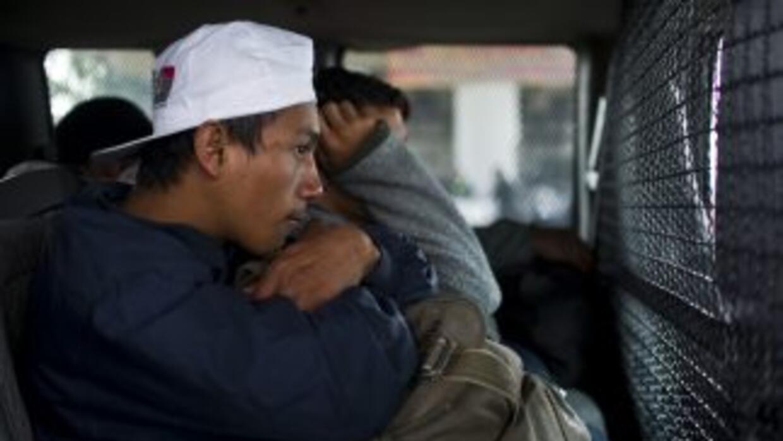Las autoridades mexicanas anunciaron la detención de 38 indocumentados c...