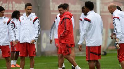 Entrenamiento Benfica