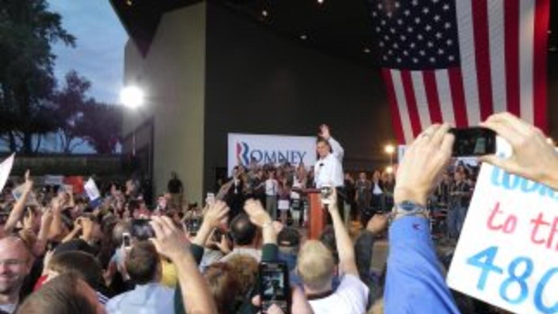 El exgobernador de Massachusetts, Mitt Romney.