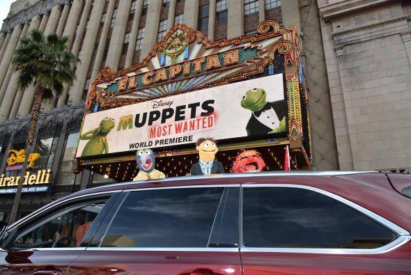 Los famosos títeres llegaron al Capital Theatre durante la premier de su...