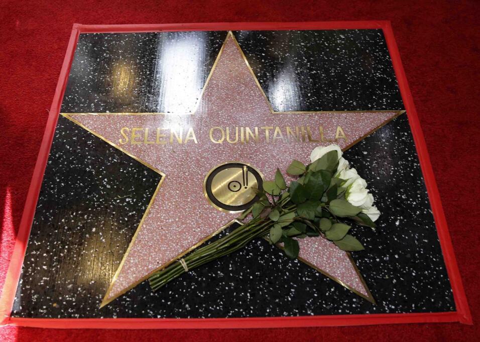 develación estrella selena Quintanilla