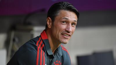 Niko Kovac disputará su primer título con el Bayern Munich este domingo frente al Frankfurt
