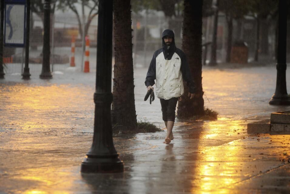 Vuelven las lluvias a Carolina del Sur pero descartan inundaciones East%...