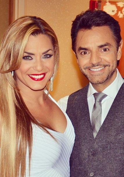"""""""Junto a @Eugenioderbez anoche en @sabadogigante por @univision"""""""