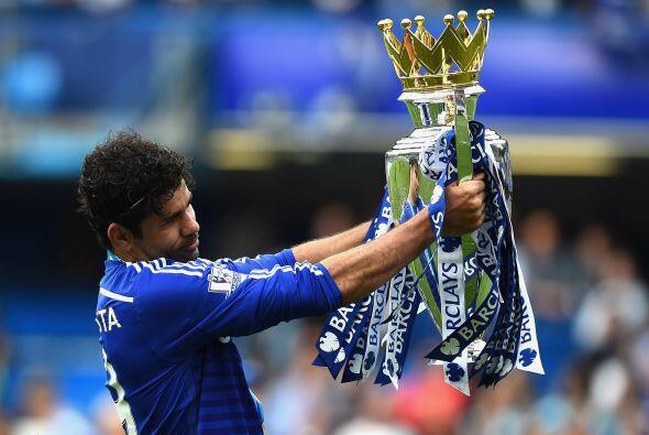 Diego Costa, quien fue una de las grandes contrataciones del Chelsea, se...