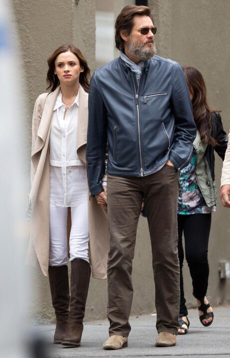 Novia Jim Carrey