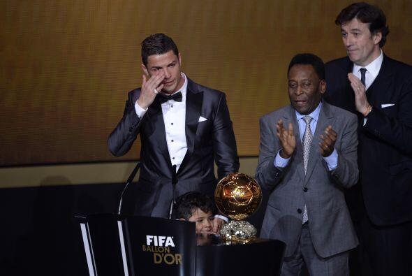 Enero 13 - El ganador de esta edición fue Cristiano Ronaldo, al superar...