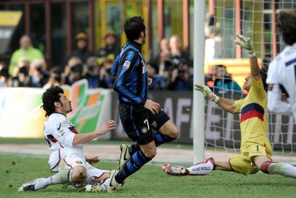 Pero apenas arrancó el complemento y el Inter demostró su jerarquía.