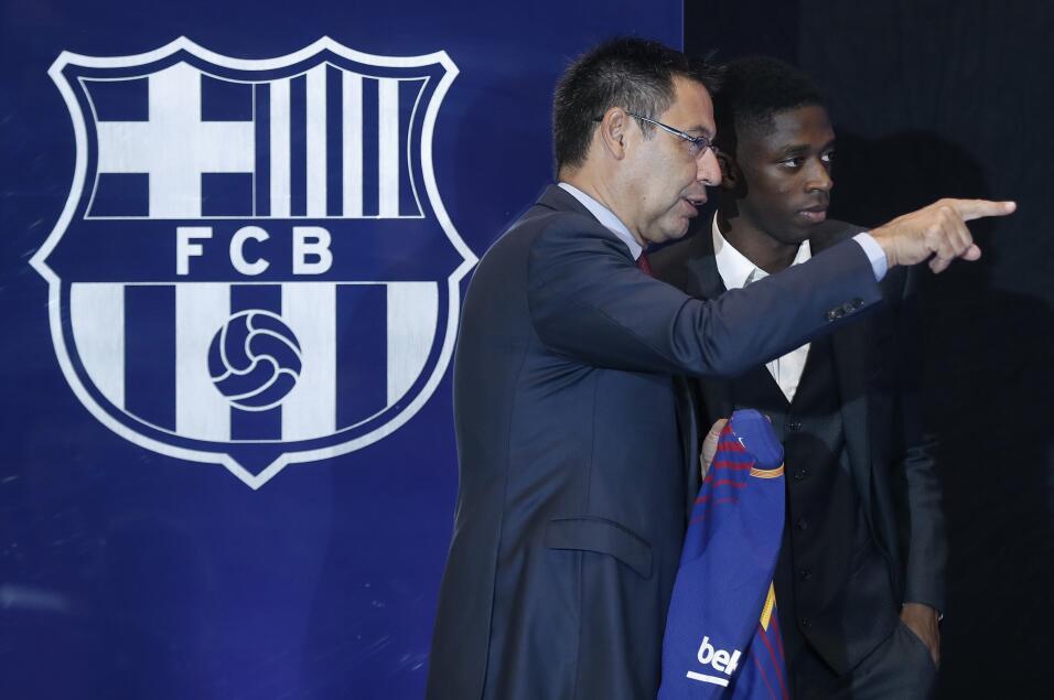 Ousmane Dembélé vuelve a los entrenamientos con Barcelona 63639535975321...