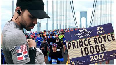 Prince Royce a días de los premios Latin GRAMMY corre el Maratón de Nueva York