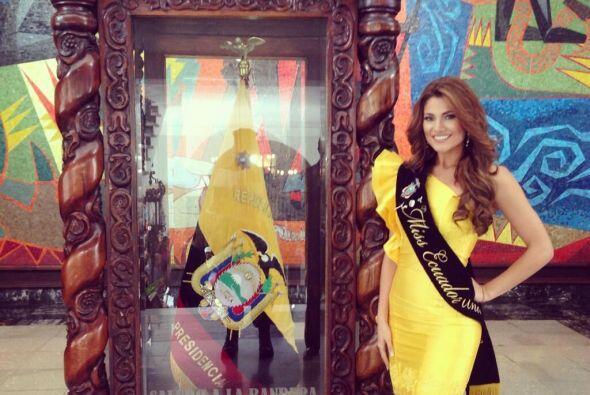 Constanza, orgullosa ecuatoriana.