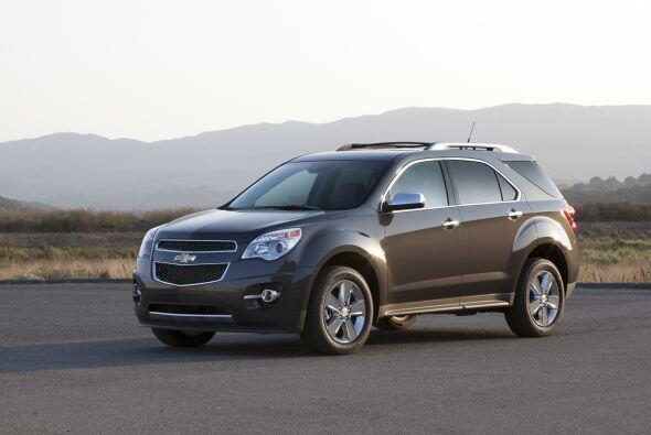 7- Chevrolet Equinox: Unidades vendidas: 28,856; Precio: $22,120 a $33,6...