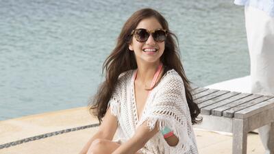 Detrás de cámaras de la romántica cita de Pablo y Maia en la playa