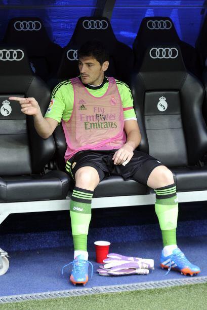Fue noticia a lo largo del año la suplencia de Iker Casillas en el Real...