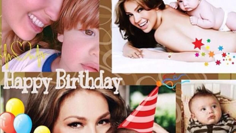 La actriz celebró el cumpleaños de su hijo.